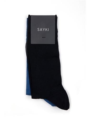Hatemoğlu Basic Çorap Lacivert